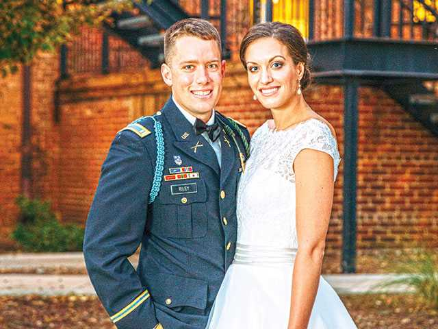 Woodlee Riley Exchange Vows