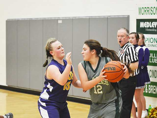 Dibrell girls prevail in contest with Morrison