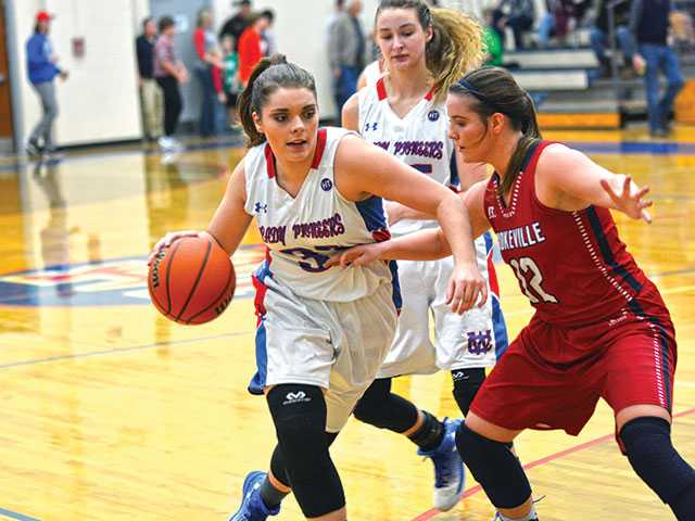 Lady Pioneers can't keep up with Cookeville