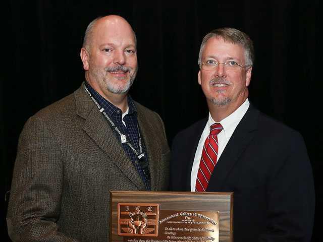 McKinley receives prestigious chiropractor award