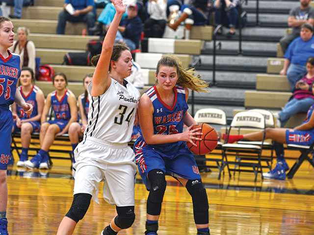 Shorthanded Lady Pioneers fall