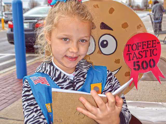100 years of Girl Scout Cookies
