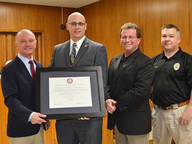Police receive third accreditation