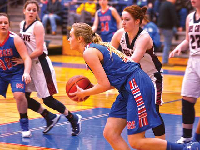 Loss ends Lady Pioneer season