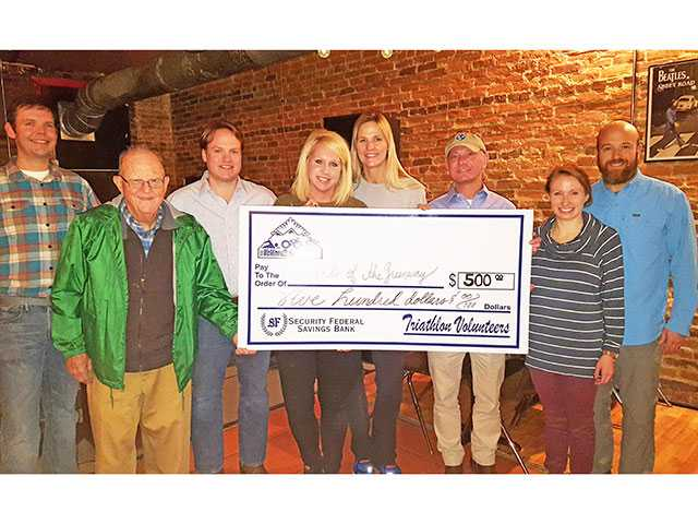 Triathlon raises $500 for Friends of the Greenway