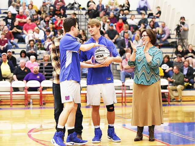 WCHS basketball teams recognize seniors