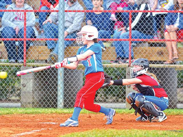 WCMS softball team hits the diamond