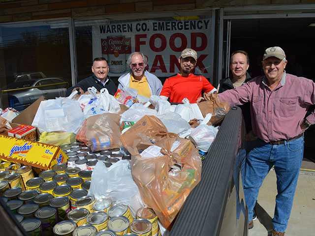 First Baptist makes huge deposit at Food Bank