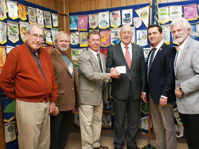 Rotary Club teams with Gates to fight polio