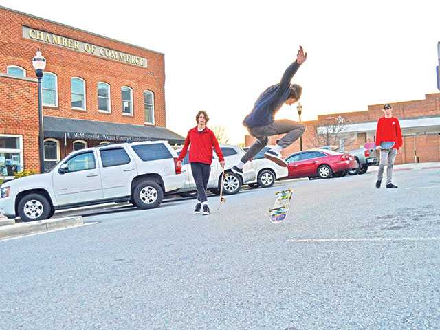 Skaters ramp up input for city officials