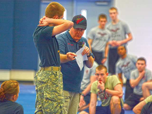 WCHS plays host to 30th annual JROTC drill meet