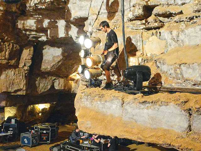 Gov. Haslam to visit for cave concert