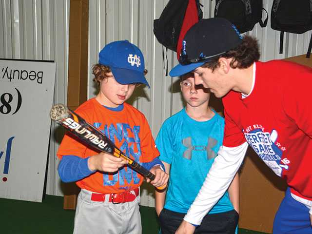 WCHS holds baseball camp