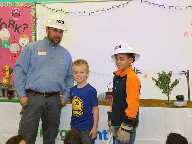 MES teaches electric safety to Bobby Ray students