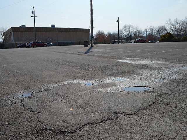Civic Center parking lot set for $103K upgrade