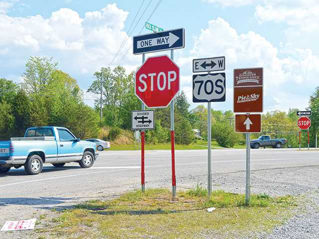 Larger signs put at deadly intersection