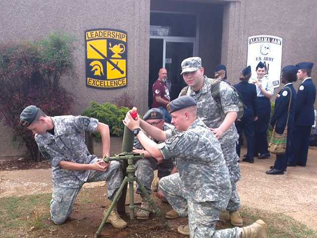 WCHS JROTC takes aim at competition