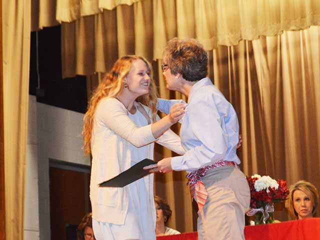 WCHS seniors rewarded for hard work