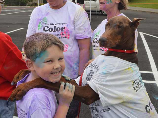 Color Run tons of fun in Saturday sun