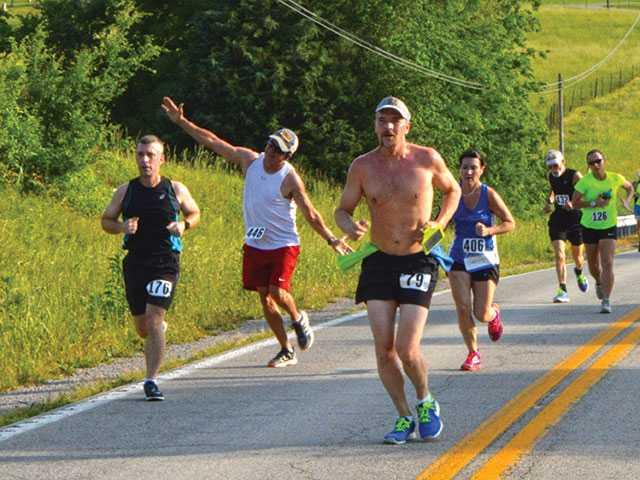 Runners brave heat for Viola Valley Half Marathon
