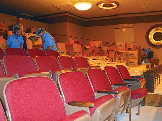 Balcony seats arrive