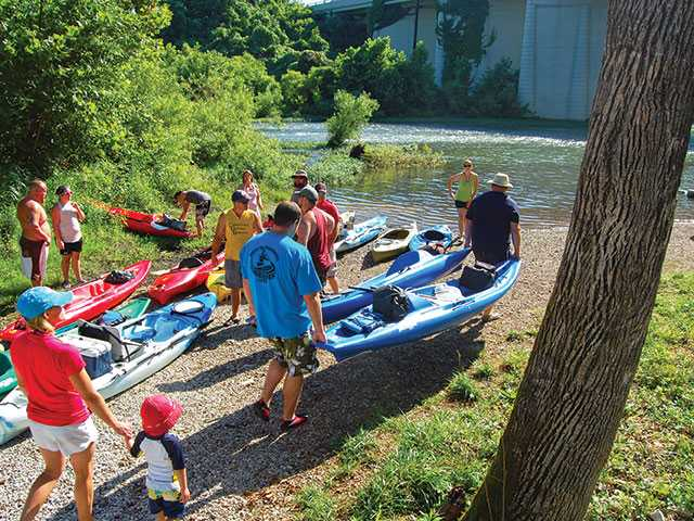 Float the river at Paddlefest