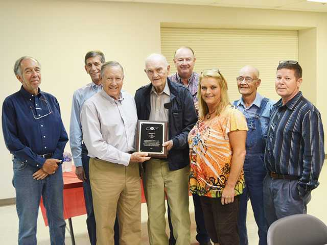 Witt honored for longest tenure in state