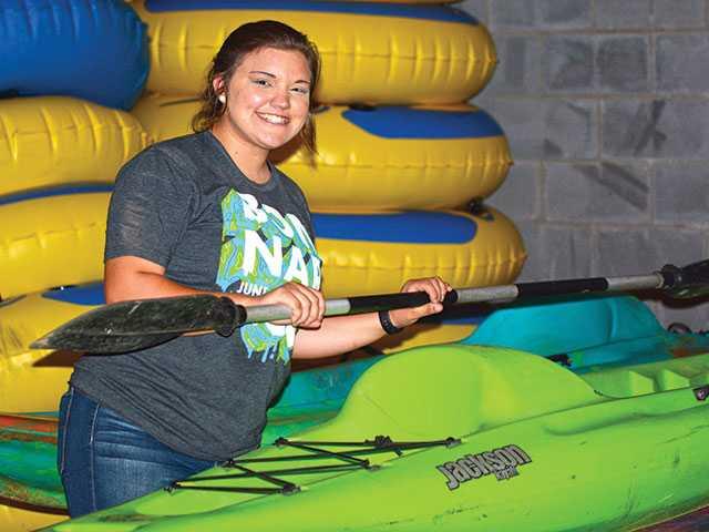 Kayaking growing rapidly