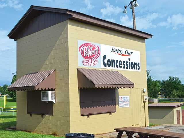 Three charged for concession break-ins