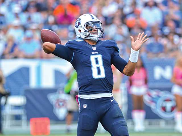 Titan's Mariota is coming to town