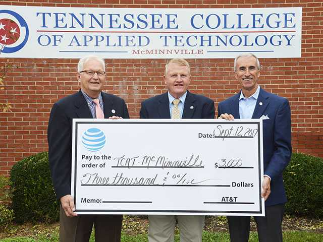 AT&T donates to TCAT for data recovery training
