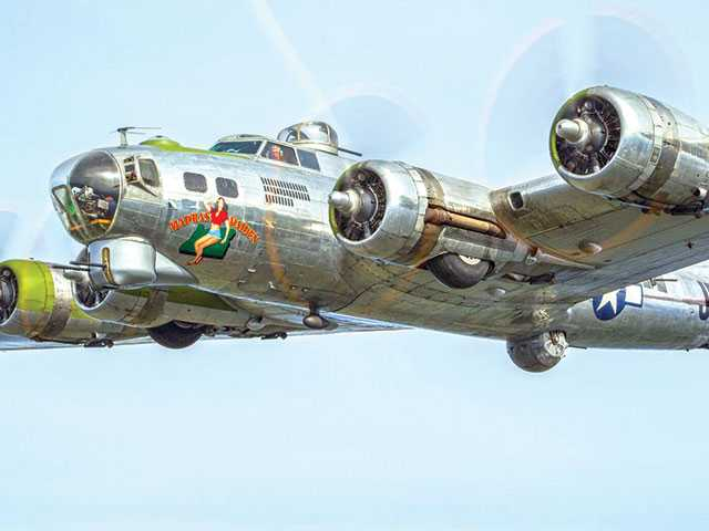 Flights on B-17 bomber to be offered