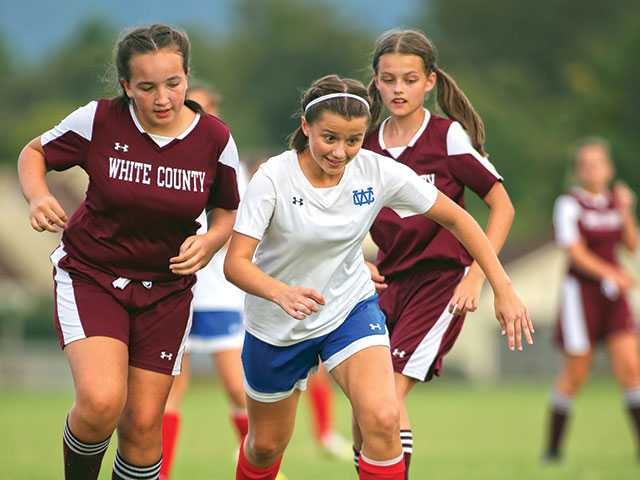 Lady Pioneers make short work of White County