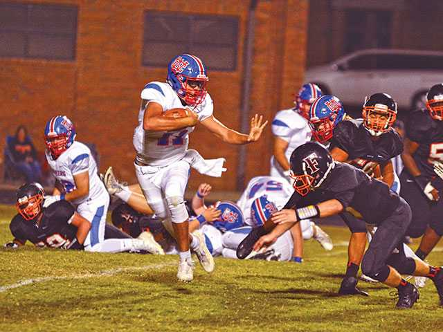 Grayson leads Pioneers to win