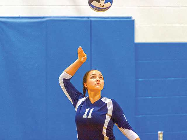 Lady Lions win in straight sets