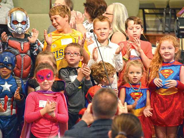 First Baptist welcomes community to super event
