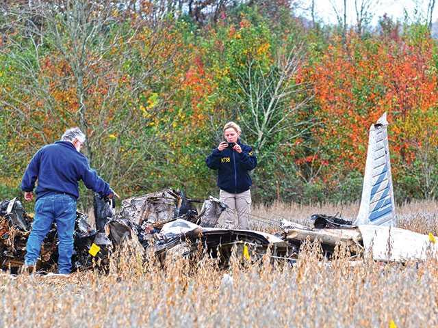 Plane crash leaves no survivors