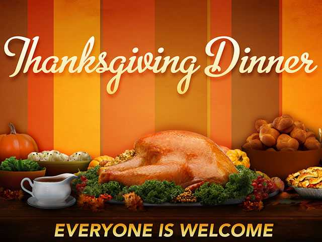 Churches offer free meal on Thanksgiving