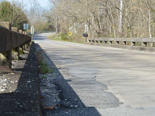 Commissioners look at repaving bridge