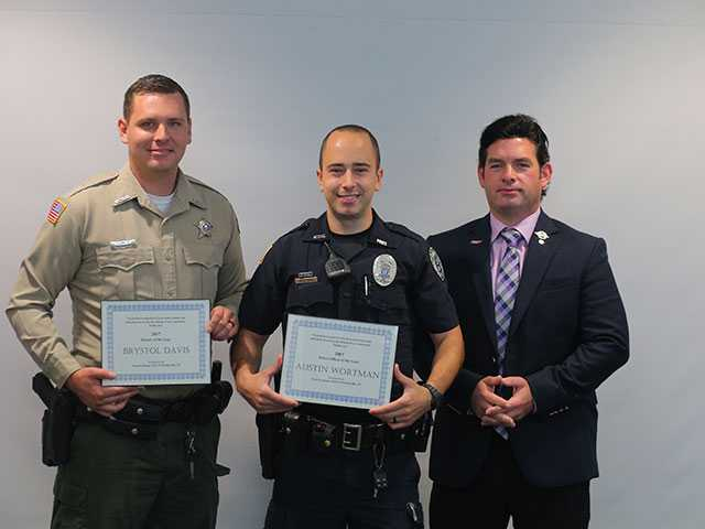 Noon Exchange honors officers