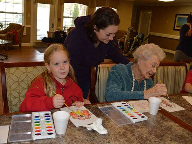 Seniors, youth enrich each other at Riverview