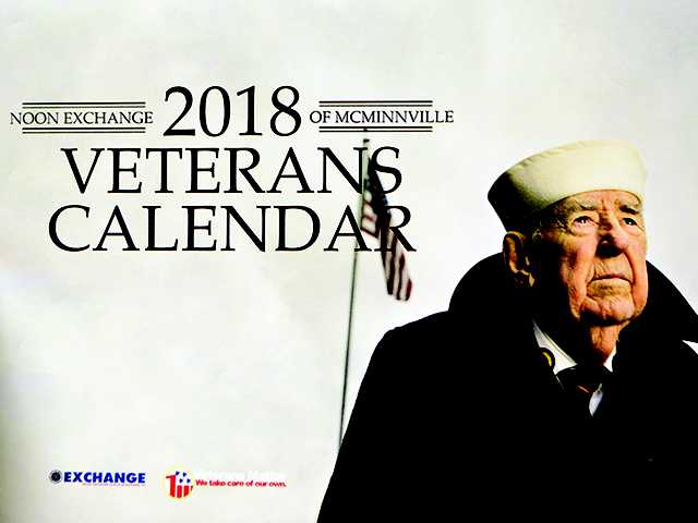Veterans to hold another 2018 calendar signing