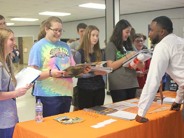 Boyd Christian holds Career and College Day