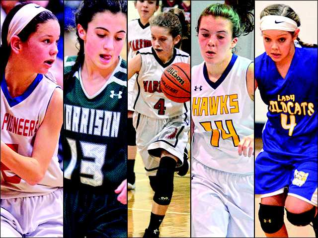 Guards lead the way in 5-6 grade girls basketball