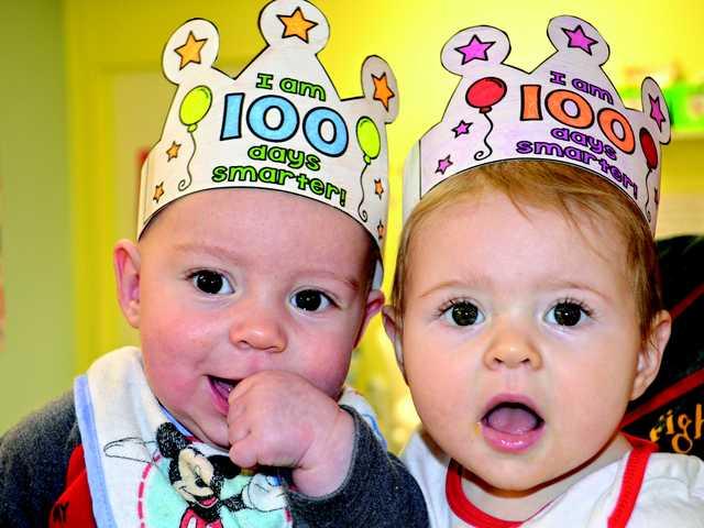 West celebrates 100 days of school