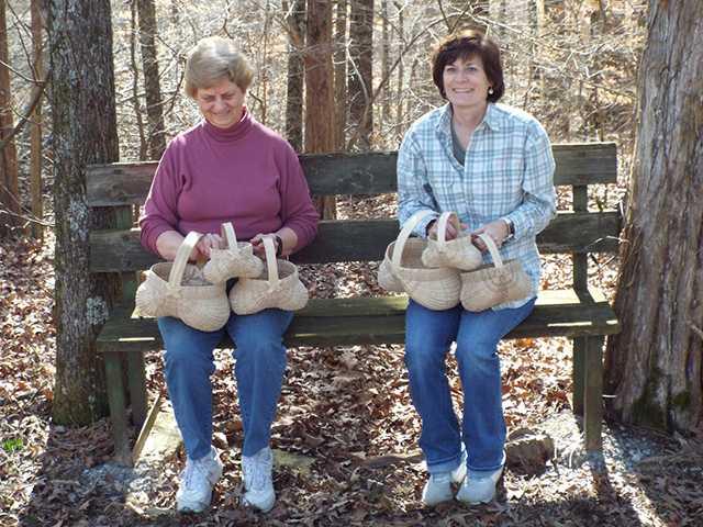 White oak basket making class set for March 8