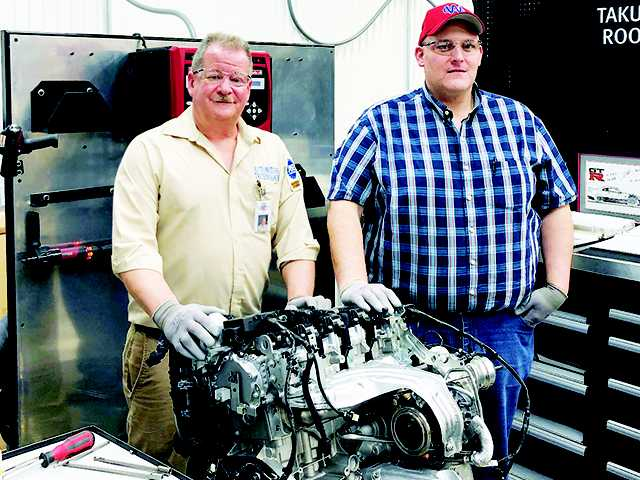 WCHS officials revved by engine donation