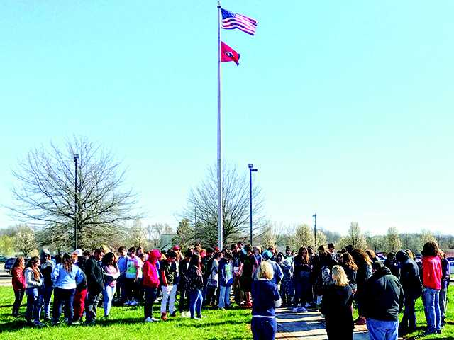 WCHS students take part  in nationwide walkout