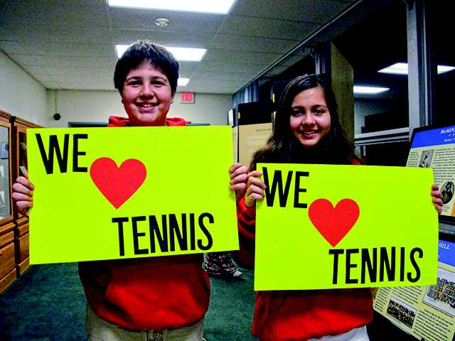Tennis players love indoor court at Civic Center plans