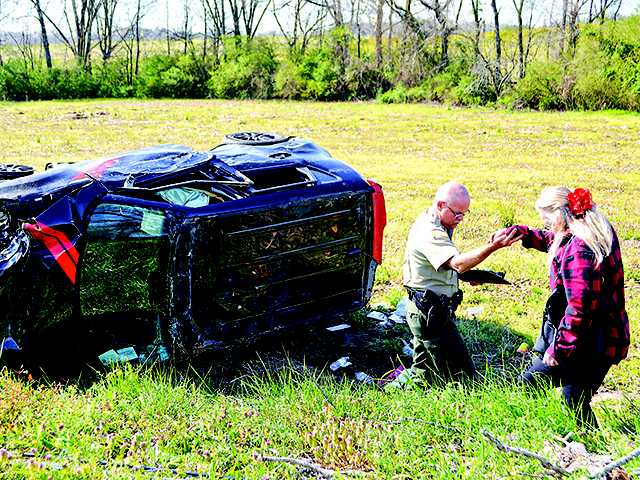 Three cars involved in Short Mountain wreck